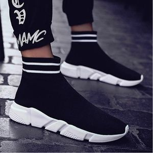 "Mens ""Tyga"" Ultra Lightweight High Sock Sneakers"